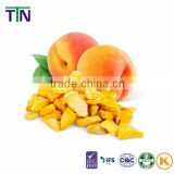 TTN 2016 Freeze Dried Fruit Bulk Dried Peach Chinese Supplier