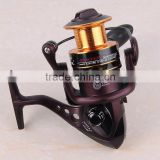 FDDL 2000-6000 Series Metal Flash Fishing Reels 10+1 Ball Bearing 5.1:1 and 5.5:1 Gear Ratio Pre-Loading Spinning Fishing Wheel