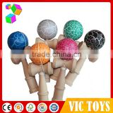 Factory direct 2016 New product high-quality kendama balls/kendama for wholesale