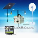 portable solar home lighting system/ led solar light kit for prefab houses/solar lighting kit for container house