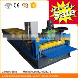 Corrugated Metal roofing and walling forming machine/metal bending machines/ roll forming machinery factory for building