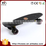 ABE-7 70kgs Top ABS Deck Material OEM Fish Shape Skateboard