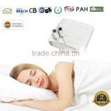 SAA Pasted Stamp Welding 3 Settings 100% Polyester King Size Dual Heated Electric Blanket