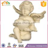Factory Custom made best home decoration gift resin polyresin baby angel figurines wholesale