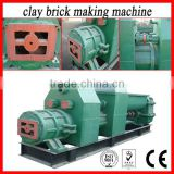 Automatic vacuum extruder hollow clay brick making machine/construction equipment