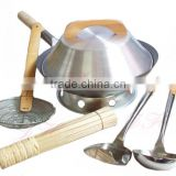 SGS Certificate Aluminium Frying Pan Non Stick Cookware Set