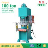 Dongguan JULY factory C frame 100 ton power press for sale