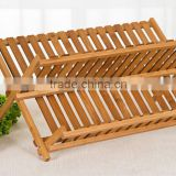 Bamboo plate rack/cup holder