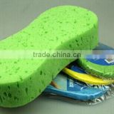 Super Soft Compressed car cleaning sponge jumbo 8 polyurethane sponges/ jumbo car washing sponge