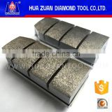 diamond grinding fickert abrasive for granite quartz stone