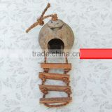 handmade pigeon cage bird nest coconut bird house