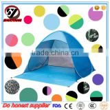 Professional factory supply custom Fast Open Sun Shade Shelter Outdoor Camping Beach Pop-Up Tent