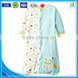 China alibaba applique wearable cotton baby sleeping sacks