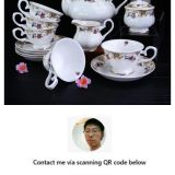 fine bone china tea set wholesale contact now