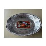 Food Grade Aluminum Foil Roasting Pan / Container For Cristmas Chicken Baking