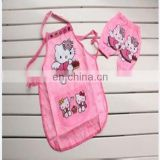 custom made eco-friendly kids pvc apron for painting