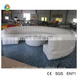 white outdoor inflatable sofa, sofa furniture, air filled sofa/couch, air bed inflatable bed sofa for sale