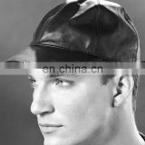 HMB-902I LEATHER BASE BALL HATS BASEBALL CAPS HEAD WEARS ON SALE