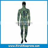 Factory Quality Neoprene CR Two Piece Spearfishing Float Wetsuits Set With Hooded