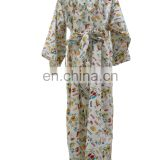 Chinavictor Sexy 100% Cotton Girls Adult One Size Japanese Peignoir