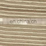 SILK FABRIC GREY WITH WHITE LINE