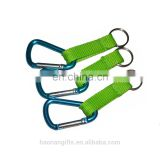 High quality custom aluminum climbing carabiner/ water bottle holdercarabiner