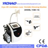 High Effective Lipolaser RF Cavitation Cryoliplysis Body Beauty Slimming Equipment