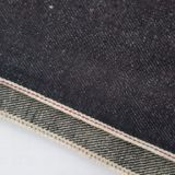 Competitive Price 11oz Linen raw denim fabrics W0773-6