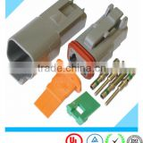 Deutsch 2 Pin Female Automotive Waterproof Connector DT06-2S with loose terminal                                                                         Quality Choice