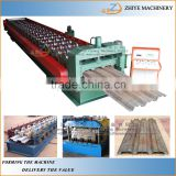 Metal trapezoidal sheet floor deck roll forming machine/floor decking cold roll former machinery