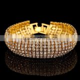 Trending Hot Rhinestone Fashion Beads Bracelet 2015 Pulsera con diamante