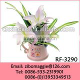 Professonal Zibo Manufacture for White Porcelain Flower Vase