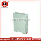 hot sale new products plastic standard din rail mounting enclosure
