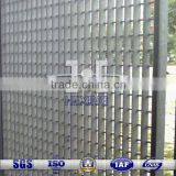 PVC Coatec Hot Dip Galvanized Steel Grating Fence