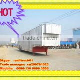 Vehicle transport semi trailer