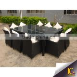 sectional dining table and chair outdoor rattan furniture china                                                                         Quality Choice