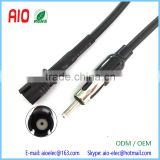 DIN Male to Raku Female Aerial Antenna Mast Adapter Lead Cable for Smart Car Fortwo Roadster
