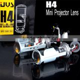 Popular motorcycle car Small H4 mini Projector Hid Bi-xenon Bulbs Headlight with high quality