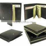 Factory price!Best selling classic leather money clip wallet