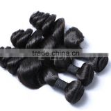 Thick virgin Brazilian hair 3 bundles good soft Indian virgin hair thick bundles hair weaving                                                                                                         Supplier's Choice