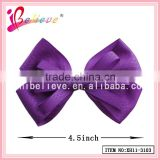 Wholesale 2015 alibaba polyester hair bow fashion brand accessories