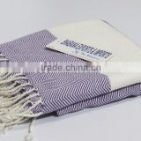 Tunisian cotton hammam fouta towel turkish peshtemal wholesale