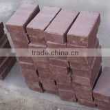 nature red sandstone building blocks