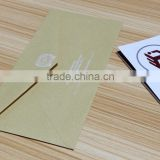 practical office kraft paper envelope factory price and fast delivery, die cut kraft paper envelope wholesale in China