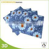 Cheap Price Plastic PP custom printed placemats