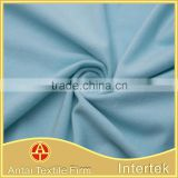 Wholesale warp tricot knitted 4 way stretch polyester spandex lycra brushed fabric for winter glove