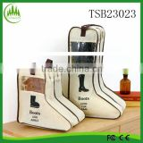 Long Boots Shoes BagTravel Bag Protector Organizer Dustproof Container Shoes Storage