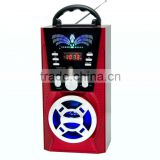AM/FM/SW Fashion Hot Sales Battery Operated USB/SD FM Radios Speaker