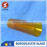 small diameter glass pyrex tube with different colors