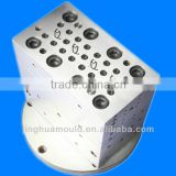 Four Cavity Glass Bead Extrusion Mould/upvc extrusion mould/extrusion die/extrusion pvc/extrusion shape/extrusion strips